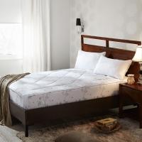 LOVO羅萊生活出品 安睡舒柔雙人加大床護墊-諾拉180*200cm