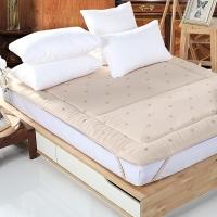 多喜爱(Dohia)床褥床垫 索尔四季羊毛垫 高档床护垫 榻榻米床垫 1.2米床 195*120cm