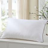 LUOLAI 罗莱家纺 枕头枕芯 全棉面料纤维呵护枕 -悦芯47*73cm