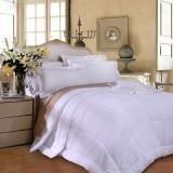 富安娜(FUANNA)家纺四季被子被芯子母被倾芯二合一舒睡被1.8米床适用(230cm*229cm)白色
