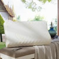 LOVO 罗莱生活出品 泰国原装进口乳胶枕 高低枕飘然58*38cm