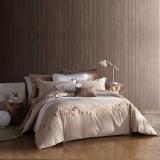 夢潔家紡出品 MAISON 床品套件 純棉繡花四件套 床單款 阿爾諾河 1.5米床 200*230cm