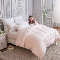 多喜爱(Dohia)被子 亲肤柔软大?#39592;?#20908;被 保暖被芯 粉色 1.5米床 200*230cm