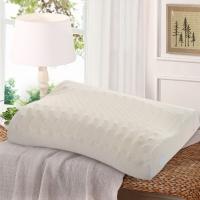 水星家纺 天然乳胶枕头芯 枕头颈椎 护颈成人睡眠枕芯 舒适型 50*30*9/7cm