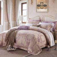梦洁家纺出品 MEE 床品套件 提花四件套 床单被罩 金粉世家1.8米床 1.8米床 220*240cm
