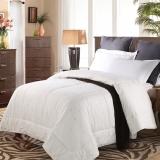 水星家纺 100%羊毛被春秋被 床上用品被子被芯 双人被子200*230cm 白色