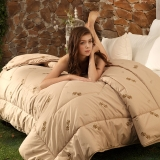 多喜爱(Dohia)被子 磨毛加厚保暖驼毛被芯 冬被 洛卡 1.5米床 200*230cm
