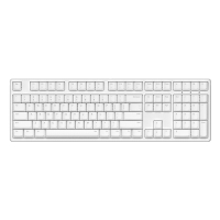 ikbc DC-108 白色 青轴 蓝牙机械键盘 原厂cherry轴 樱桃轴 108键 游戏键盘 绝地求生 吃鸡键盘