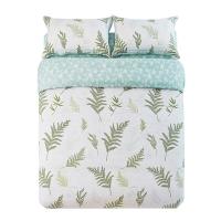 佳佰 被套被罩 单件 纯棉斜纹 叶叶情深 适用1.5米双人床(200*230)