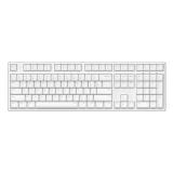 ikbc DC-108 白色 红轴 蓝牙机械键盘 原厂cherry轴 樱桃轴 108键 游戏键盘 绝地求生 吃鸡键盘