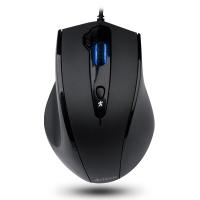 双飞燕(A4TECH) N-810FX 有线鼠标 办公鼠标 USB鼠标 笔记本鼠标 黑色