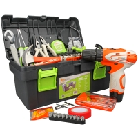吉米家居 JM-GT462 46件套家用电动工具套装 机修汽修工具组合 电动工具套装 家装维修多功能组合套装箱