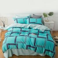 佳佰 被套被罩 单件 纯棉斜纹 时尚风度 适用1.5米双人床(200*230)