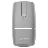 联想(Lenovo)YOGA 黑色 超薄无线鼠标 双模触控 2.4G 蓝牙4.0 PPT商务演示蓝牙鼠标