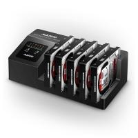 麦沃(MAIWO)K3095 五盘位SATA串口USB3.0硬盘座盒 一拖四硬盘拷贝机 黑色
