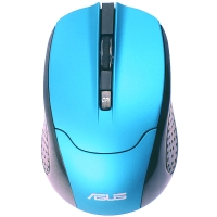 华硕(ASUS) EQ-30 红外无线鼠标 蓝色