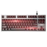 富勒(Fühlen)第九系 G87 红轴 87键 红色背光 樱桃键盘 樱桃轴机械键盘 Cherry轴 绝地求生吃鸡键盘