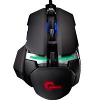 芝奇(G.SKILL)MX780 RGB 幻彩激光鼠标 8200DPI  黑银色 绝地求生吃鸡鼠标