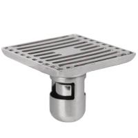 德众(DZ)232淋浴地漏不锈钢防臭 卫生间浴室阳台速排加厚地漏下水快