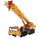 凯迪威 工程汽车模型 1:55合金重型起重机大吊车汽车玩具 625011