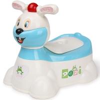 嘟迪DuDi加大号儿童坐便器男 女宝宝座便器婴儿小孩马桶 婴幼儿尿盆 兔子音乐坐便器蓝
