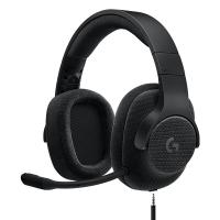 罗技(Logitech)G433 7.1 有线?#21857;?#22768;游戏耳机麦克风(黑色) 游戏耳麦 电竞耳机 头戴式耳机