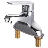 名爵 (MEJUE) Z-1250全銅主體冷熱面盆水龍頭 單把雙孔洗臉盆龍頭