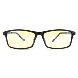 Gameking 3015 酷睿黑全框平光 电竞防辐射眼镜 防蓝光男女款专业护目镜 TR镜框 琥珀色镜片