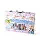 绘儿乐(Crayola)绘画工具 diy玩具 绘画套装内含64色蜡笔 40色彩色铅笔 20色短杆水彩笔 冰雪奇缘画笔精美卡通礼盒 04-2539
