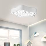 首度 LED吸顶灯 现代简约灯具客厅灯卧室灯 节能环保 岁月 60*60cm白光 DD2710