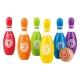 Hape 益智玩具 儿童彩虹保龄球 3岁以上 E8348 户外趣味木制儿童玩具