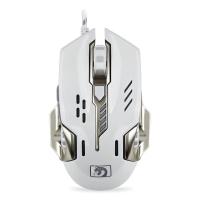 新盟(Technology)机械蛇(M326)游戏鼠标 有线鼠标 吃鸡鼠标 机械鼠标