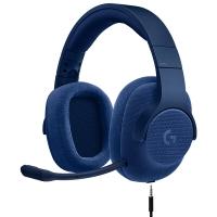 罗技(Logitech)G433 7.1 有线?#21857;?#22768;游戏耳机麦克风(蓝色) 游戏耳麦 电竞耳机 头戴式耳机