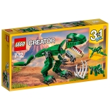 乐高 玩具 创意百变组  Creator 7岁-12岁 凶猛霸王龙 31058 积木LEGO