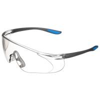 霍尼韋爾(Honeywell)300112 護目鏡 S300A 藍款銀色鏡片 男女 防風 防沙 防塵 防霧 騎行運動眼鏡 10副/盒