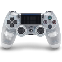 索尼(SONY)【PS4官方配件】PlayStation 4 游戏手柄(晶透)17版
