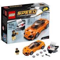 乐高 玩具 超级赛车 Speed Champions 7岁-14岁 迈凯伦 720S 75880 积木LEGO