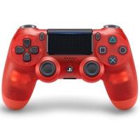 索尼(SONY)【PS4官方配件】PlayStation 4 游戏手柄(水晶红)17版