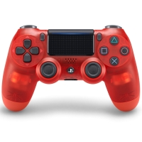索尼(SONY)【PS4官方配件】PlayStation 4 游戲手柄(水晶紅)17版