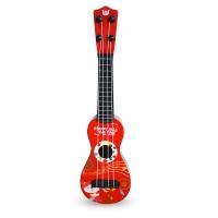 贝芬乐(buddyfun)儿童小吉他 益智玩具尤克里里 琴弦可调节 88043红色