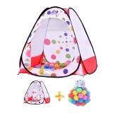 澳乐 儿童室内帐篷游戏屋 男女孩过家家玩具幼儿宝宝游戏小房子 帐篷60装海洋球 ZH-150722005D