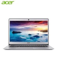 宏碁(Acer)Swift1 13.3英寸全金属超薄笔记本电脑SF113(四核 4G 128GB SSD IPS 蓝牙 指纹识别)星光银