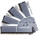 芝奇(G.SKILL) Trident Z系列 DDR4 3200频率 64G (16G×4)套装 台式机内存(雪映白)