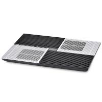 九州风神(DEEPCOOL) X8 笔记本散热器(4颗10CM风扇/纯铝面板/角度可调/电脑支架/适用于17英寸 )