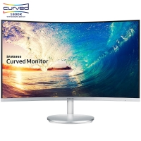 三星(SAMSUNG)C27F591FDC 27英寸 1800R窄边框旗舰曲面液晶电脑显示器(内置音箱/HDMI/DP)