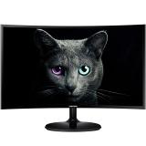 三星(SAMSUNG)C24F390FHC 23.5英寸1800R曲率 广视角低蓝光 曲面电脑液晶显示器(HDMI)