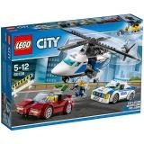 乐高 玩具 城市组 City 5岁-12岁 高速追捕 60138 积木LEGO