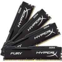 金士顿(Kingston)骇客神条 Fury系列 DDR4 2400 64G (16GBx4) 台式机内存