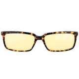 GUNNAR Haus 豹纹啡色镜框 琥珀色镜片 防辐射防蓝光眼镜
