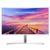 三星(SAMSUNG)31.5英寸 1800R曲率 广视角钢琴烤漆底座 曲面电脑显示器 C32F397FWC(HDMI/DP双接口)